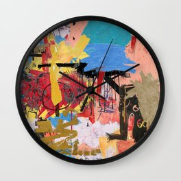 What is Expressionism Wall Clock
