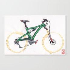 Coffee Wheels #10 Canvas Print