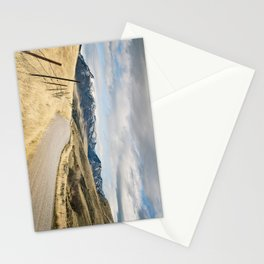 The Road to Snowy Mountains Stationery Cards