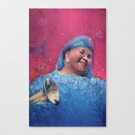 Esma Redzepova Canvas Print