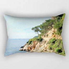 Edge Of Life Rectangular Pillow