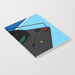 Turn Table Notebook