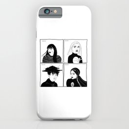 Druck - four mains iPhone Case