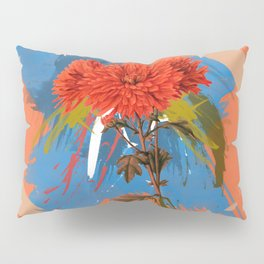 There is a Season, Floral Abstract Art Pillow Sham