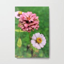 Vintage Flower Metal Print