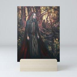Red Ridding Hood by Kim Marshall Mini Art Print