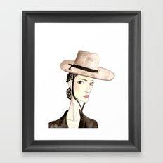 Chufi Framed Art Print
