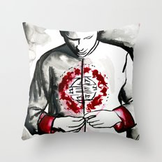 The Passion of Mr Gone  Throw Pillow