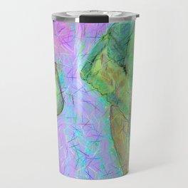 Colored elephants Travel Mug