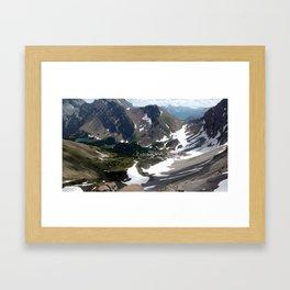 Buller Ridge Framed Art Print