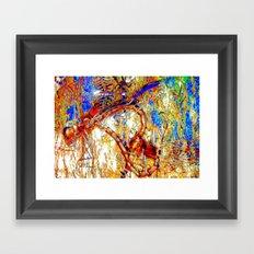 Dragon Flies 2 Framed Art Print