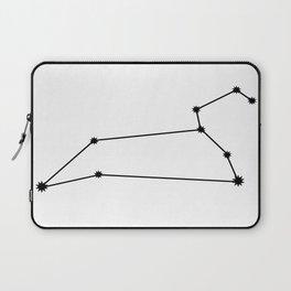 Leo Astrology Star Sign Minimal Laptop Sleeve