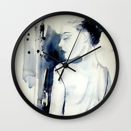 Please be kind to me. by Anna Dart Wall Clock