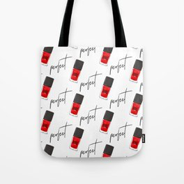 perfect nail polish Tote Bag