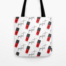 perfect nail polish Tote Bag