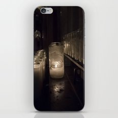 Light a candle, Say a prayer. iPhone & iPod Skin