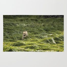 Happiness is Running Through a Field of Grass Rug