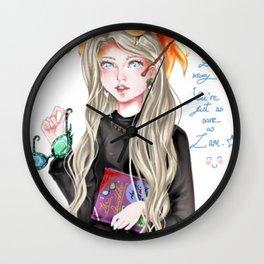 Luna Lovegood Wall Clock
