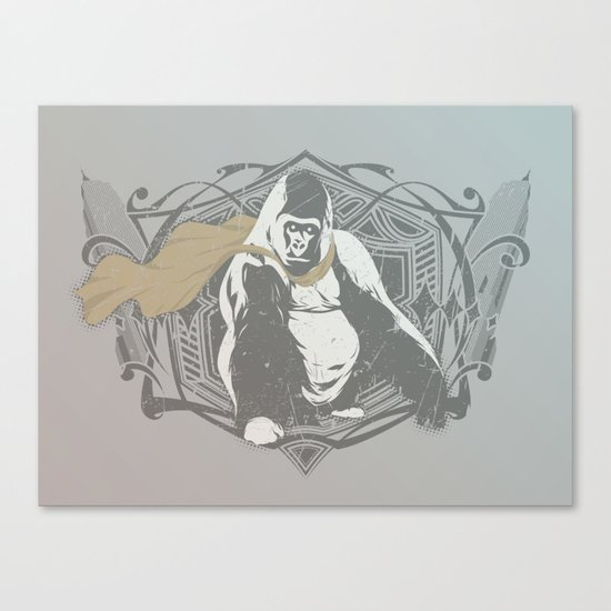 Fearless Creature: Grillz Canvas Print