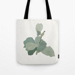 Rachel's Fiddle Leaf Tote Bag