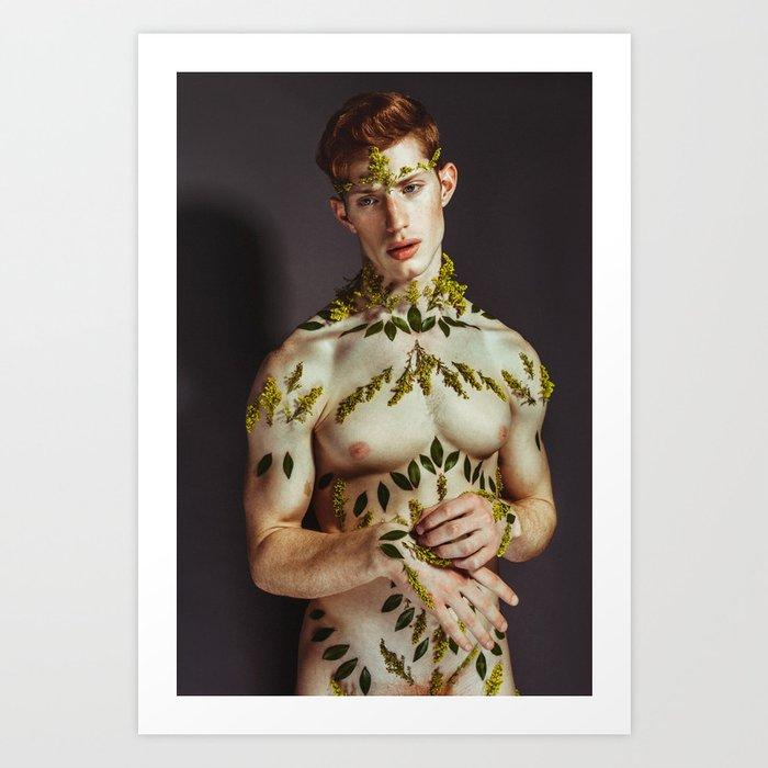 Flowers - Kevin Art Print