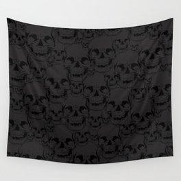 Dark Skulls Wall Tapestry