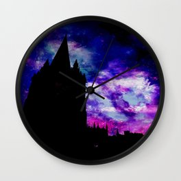 Space Tower Wall Clock