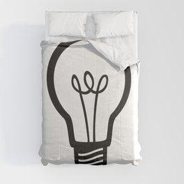Simple Light Bulb Comforters