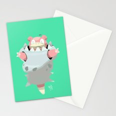 Mega Uncomfortable Slowbro Stationery Cards