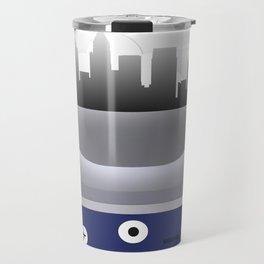 Atlanta- ATL - Airport Code & Skyline Travel Mug