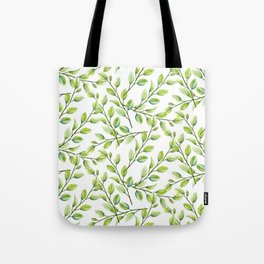 Branches and Leaves Tote Bag