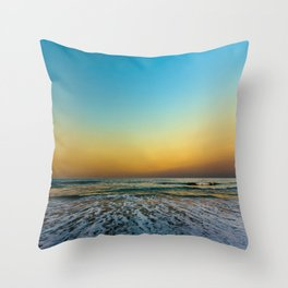 The Line is Drawn Throw Pillow