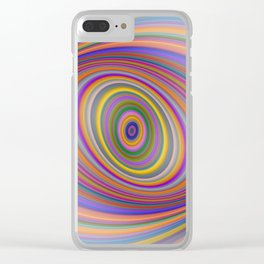 Happy Hypnosis Clear iPhone Case
