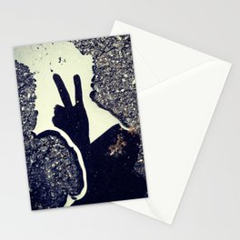 peace. Stationery Cards