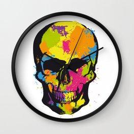Dia De Los Muertos 13 Wall Clock