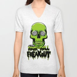 13th Annual Rock and Roll Freakout Unisex V-Neck