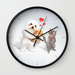 A Present For You Wall Clock