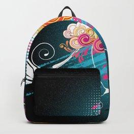 Boom flower Backpack