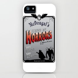 McDougal's House of Horrors iPhone Case