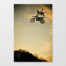 Eigo Sato at Sunset, FMX Japan Canvas Print