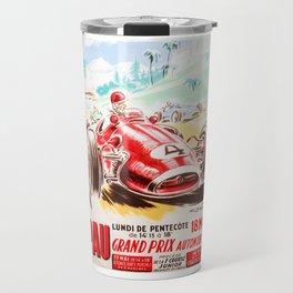 Grand Prix Pau, vintage poster, car t-shirt, car poster Travel Mug
