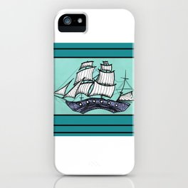 Oh, Ship. We're Going Down iPhone Case