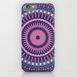 Hokusai Inspired Kaleidoscope Pattern-Japanese Ukiyo-e Style iPhone Case