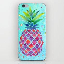 Pineapple Crush iPhone Skin