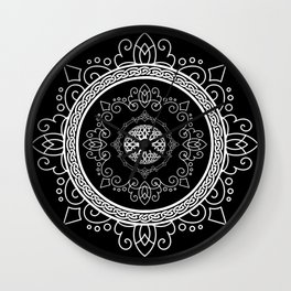 Celtic Soul Mandala Wall Clock