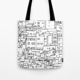 1001 Houses Tote Bag