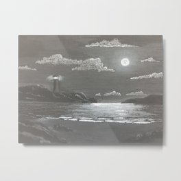 Quiet Night Metal Print