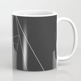 Triangle Spiral Geometric Minimalist Syndrome Coffee Mug