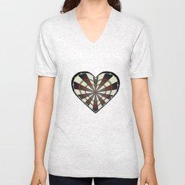 Don't use my heart as a Dartboard Unisex V-Neck