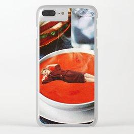 Mmm Mmm Good Clear iPhone Case